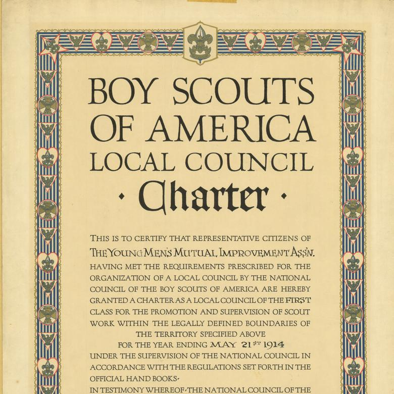 Boy Scouts of America Local Council Charter