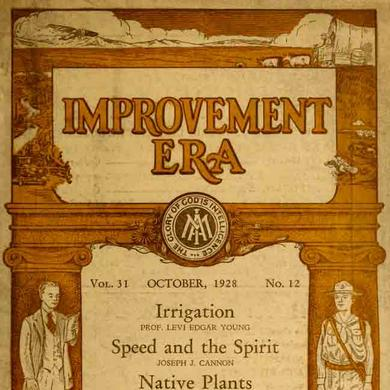 Cover of the October 1929 issue of the Improvement Era