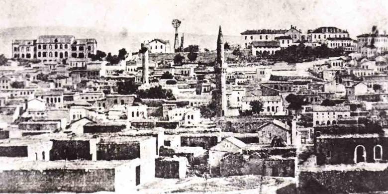 Postcard of Aintab, Turkey