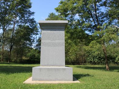 Eight Witnesses Monument in Clay County, Missouri, erected in 2014 by the Mormon Missouri Frontier Foundation.