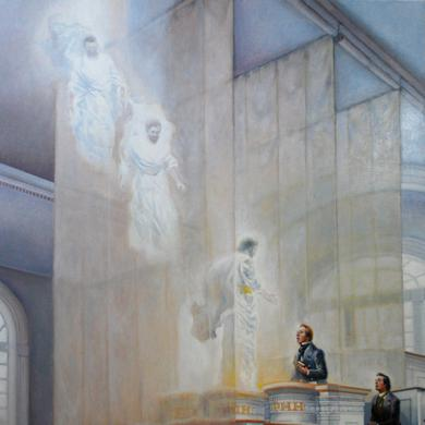 Moses, Elias, and Elijah in the Kirtland Temple