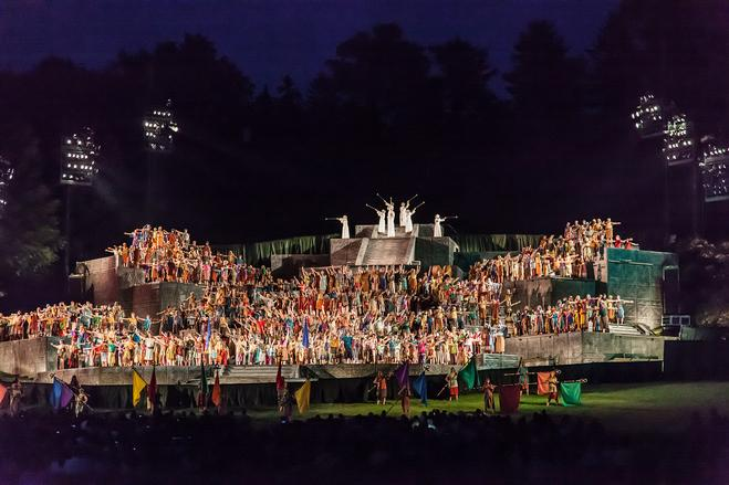 Finale for the Hill Cumorah Pageant