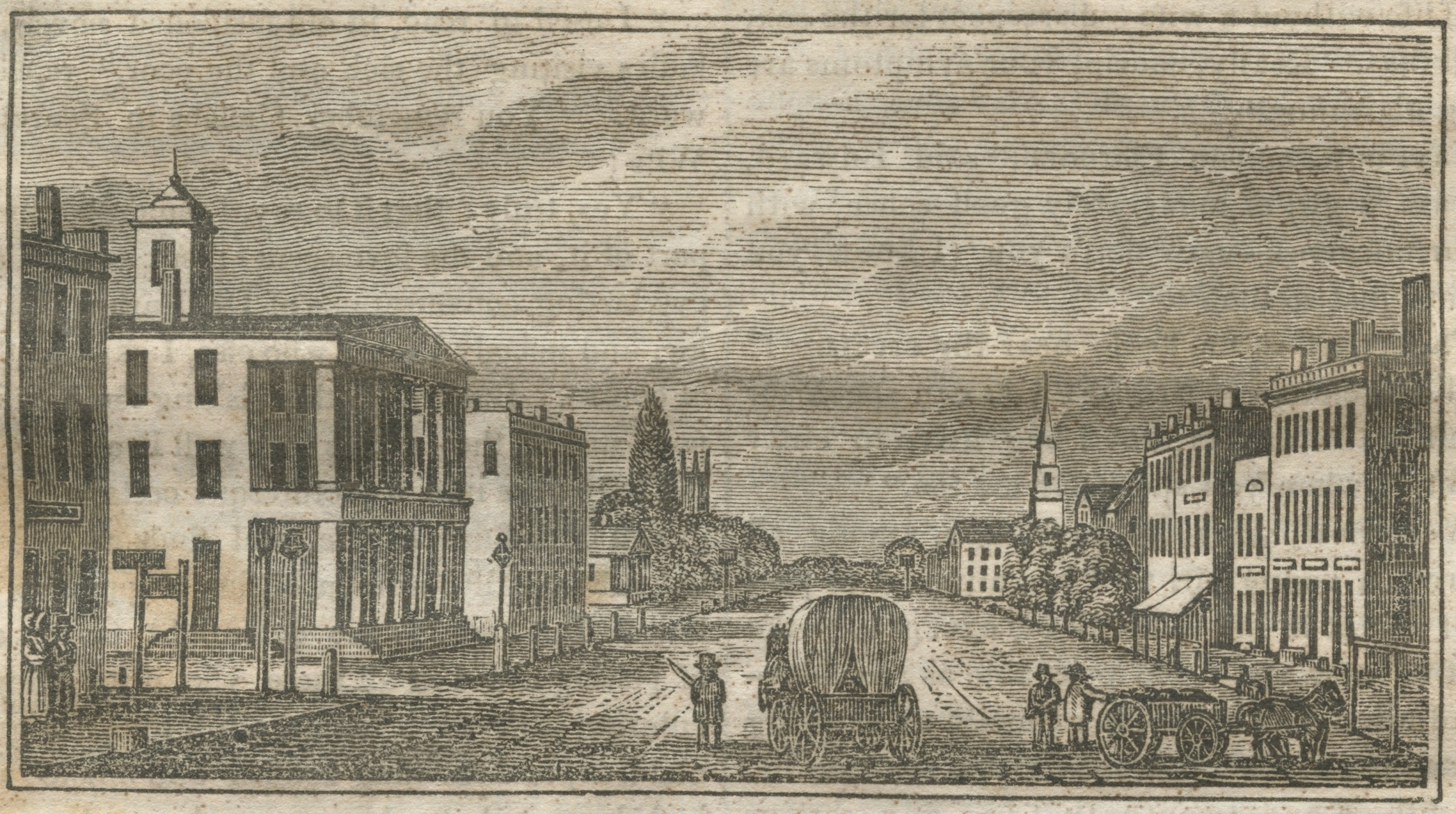 Palmyra, New York, circa 1842