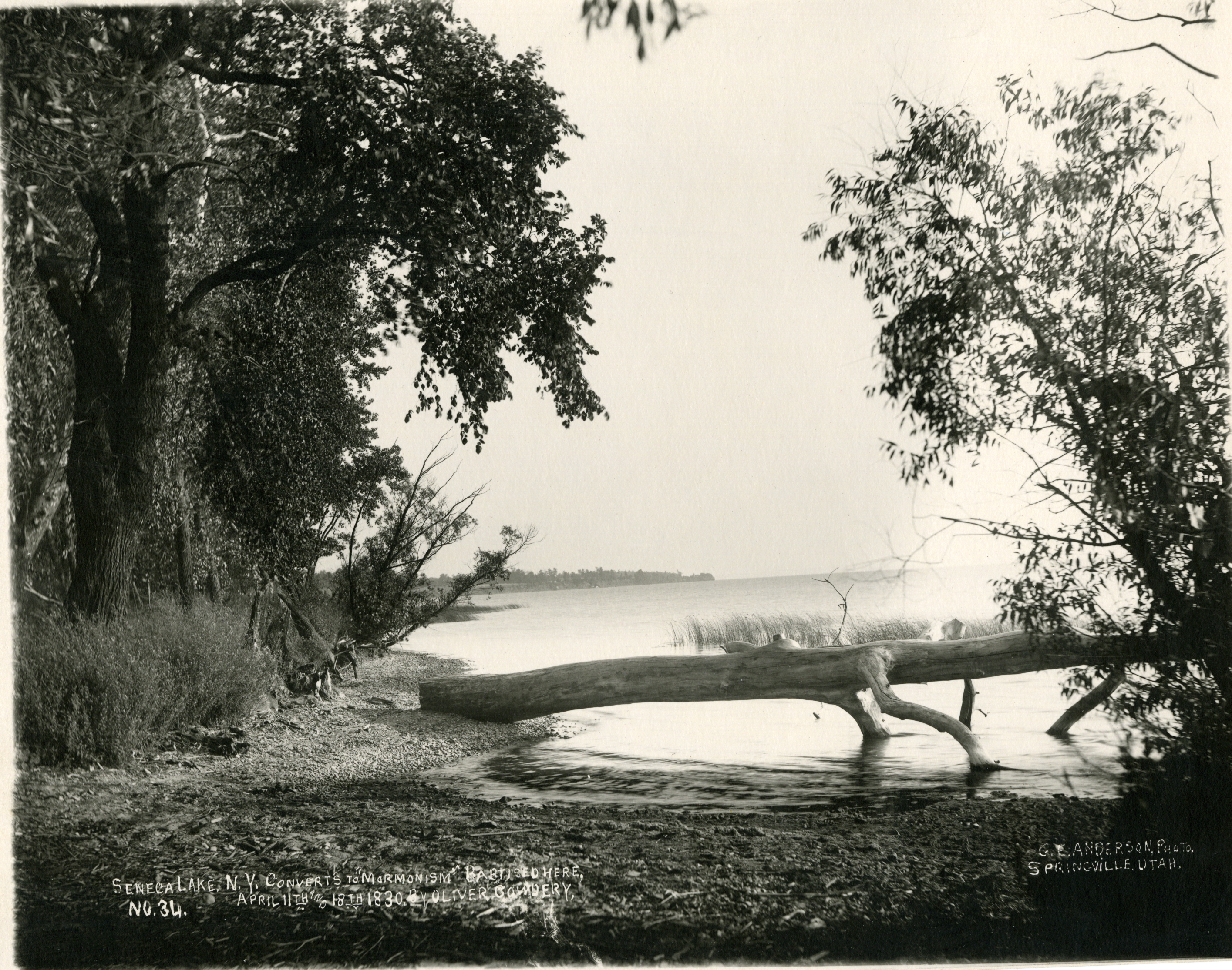 Seneca Lake. Photo by George E. Anderson, 1907