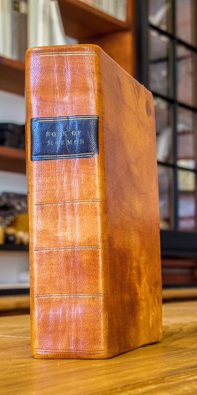 Facsimile of the Book of Mormon, first edition.