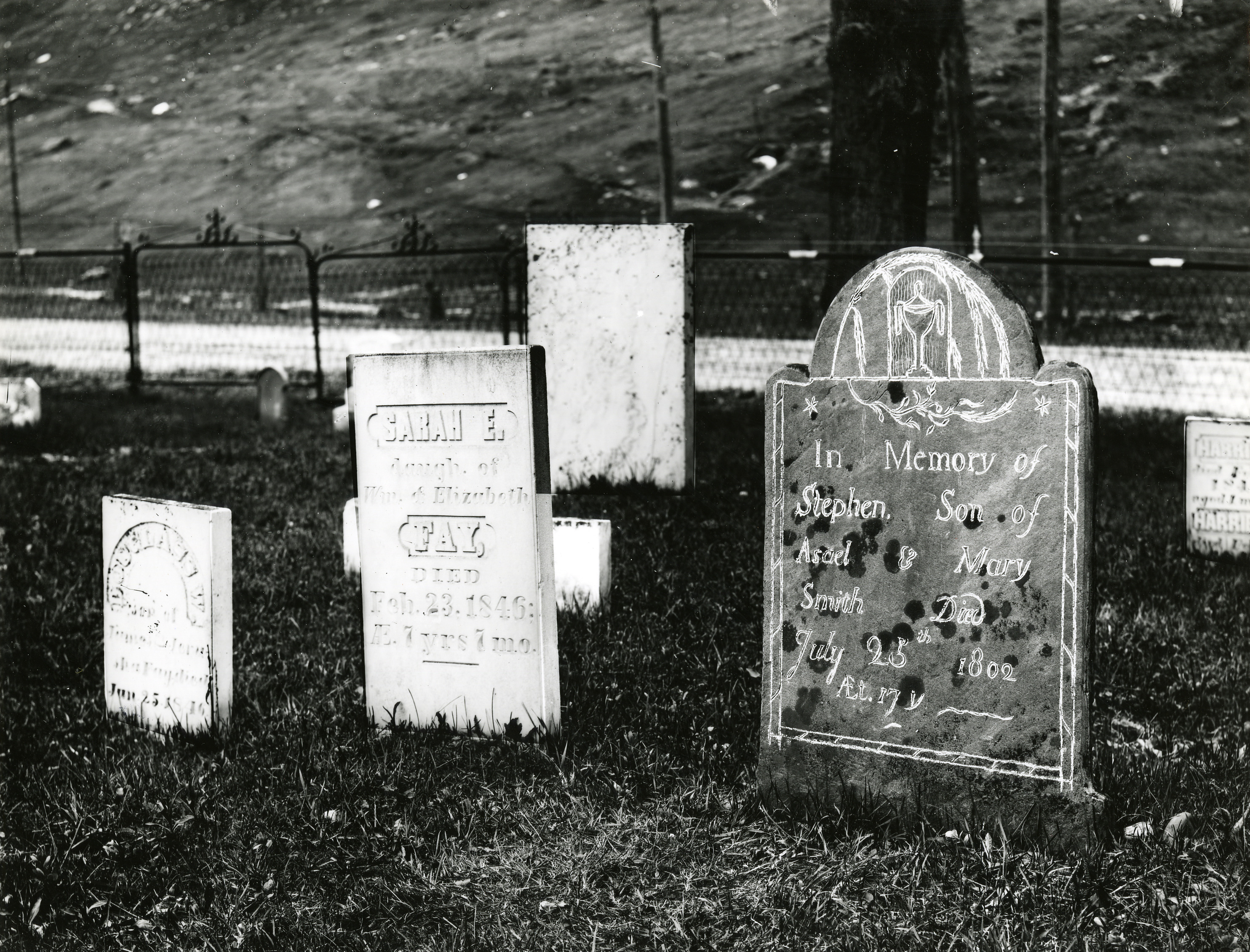 Stephen Smith's Grave, Royalton, Vermont