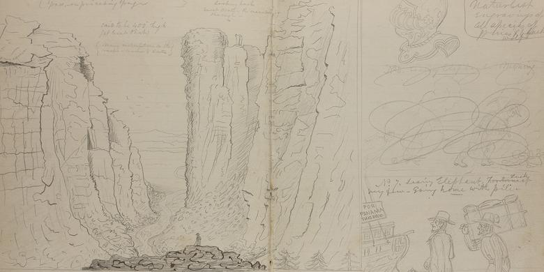 Pioneer sketches devils gate publicscrutiny Image collections