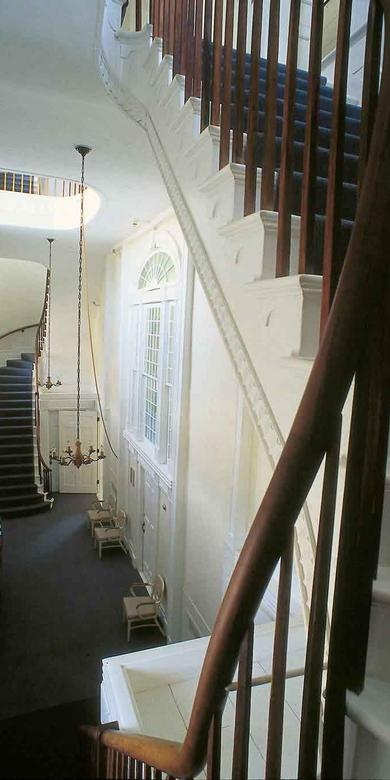 Interior of Kirtland Temple Main Entrance
