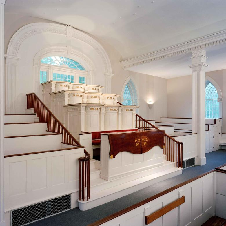Kirtland Temple Breastwork and Pulpit