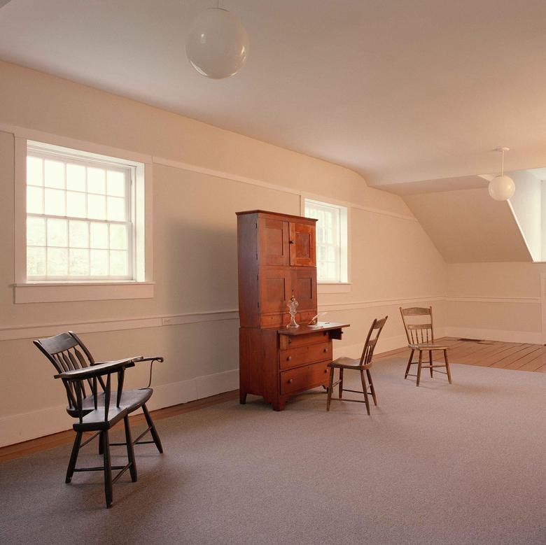 Joseph Smith's Office in the Kirtland Temple