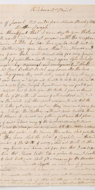 Brigham Young Letter about the Nauvoo Exodus