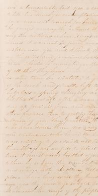 Letter of Joseph Smith Written in Liberty Jail, 1839