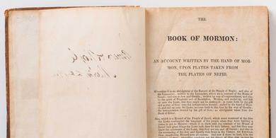 Book of Mormon First Edition, 1830