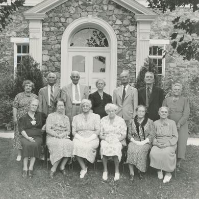 Members of the First Primary, August 25, 1940