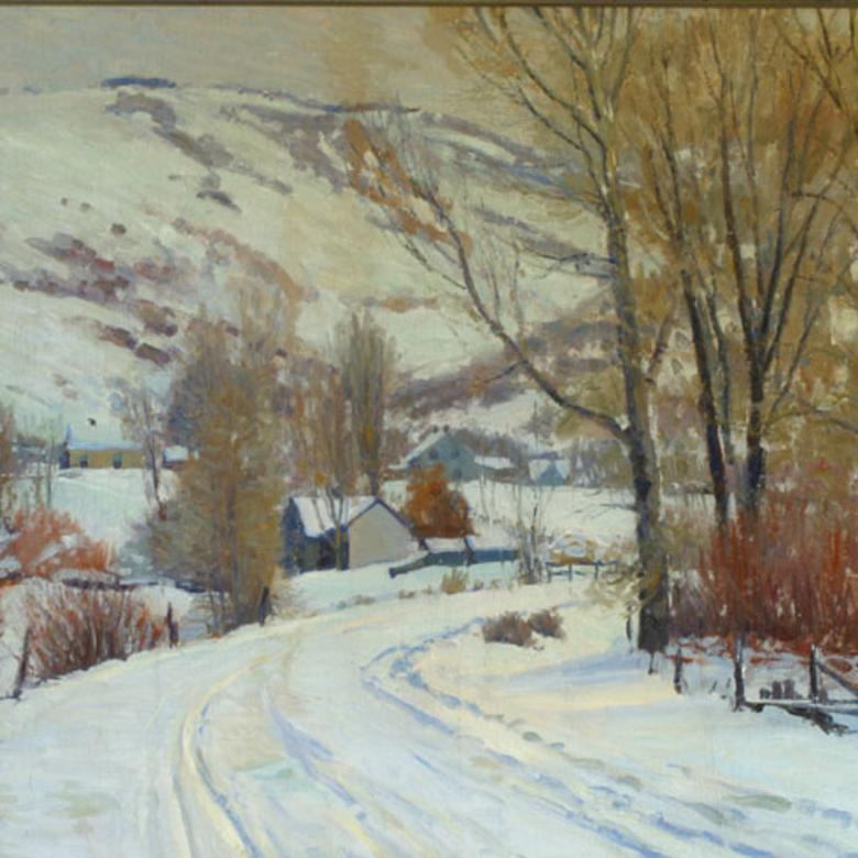 Winter in the Village, Peterson