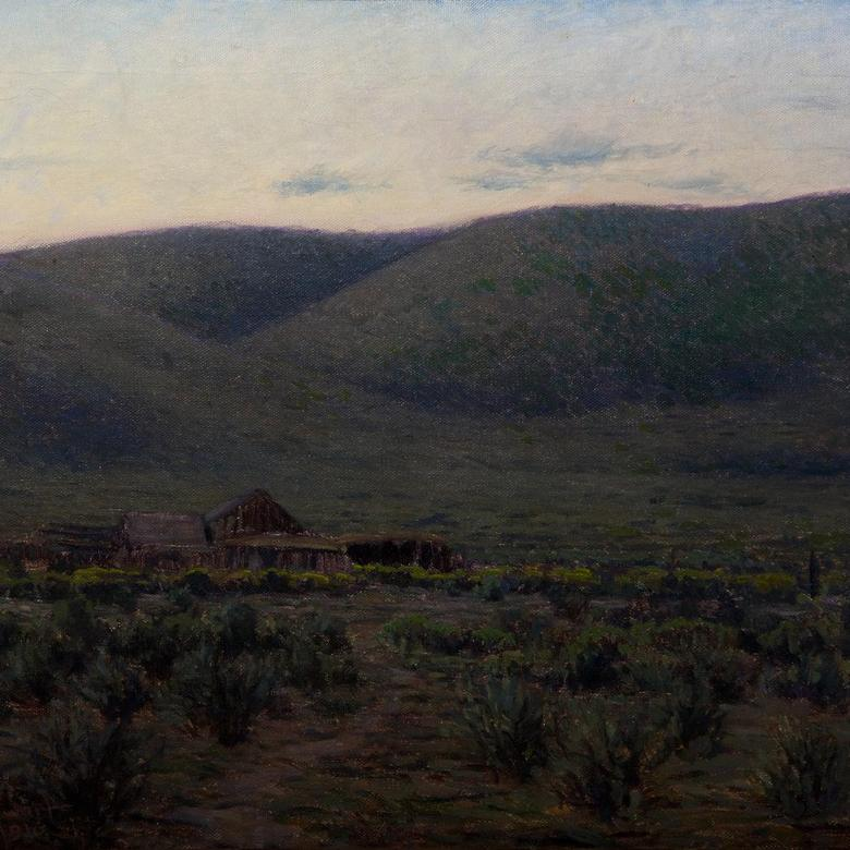 Twilight on the Deserted Ranch