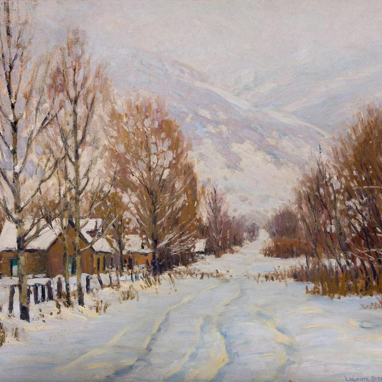 Kaysville Street, Winter