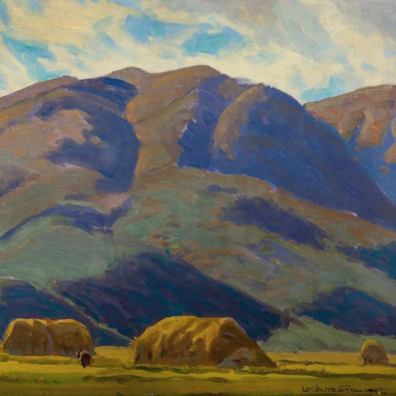 Haystacks in Henefer