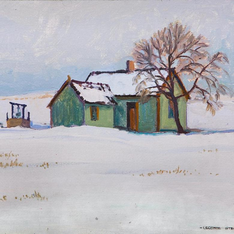 {Homestead in Winter}