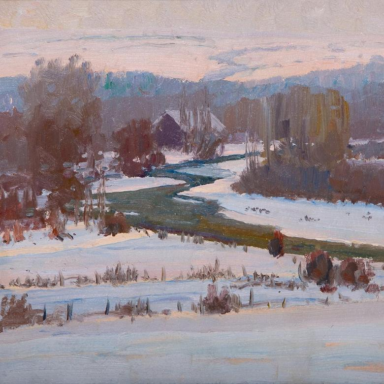 Ogden River, Winter