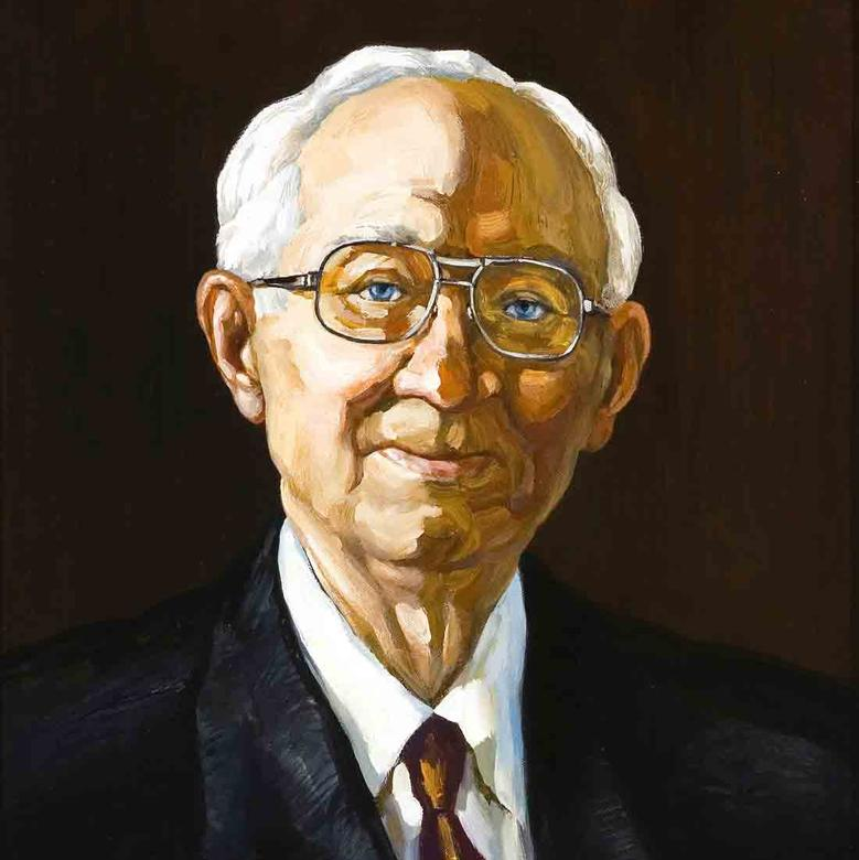 Portrait of Our Prophet and President, Gordon B. Hinckley