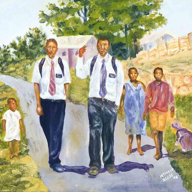 Preach My Gospel: Missionaries in Durban