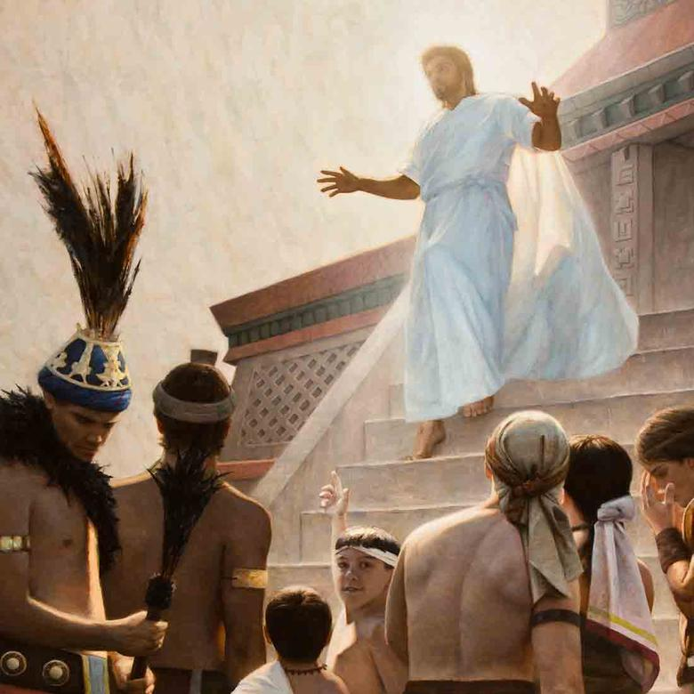 The Resurrected Christ Appears to the Nephites