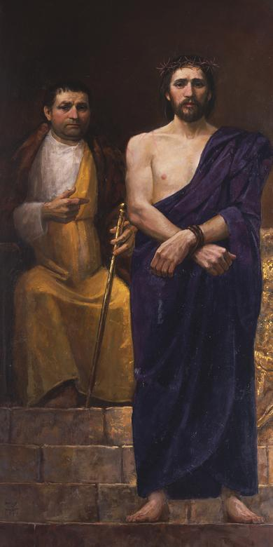 """Christ and Pilate Behold the Man,"" by Marcus Vincent"