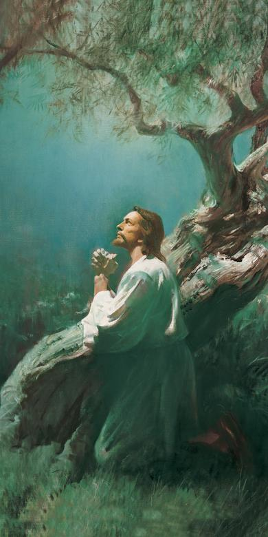 """Christ in Gethsemane"" by Harry Anderson"