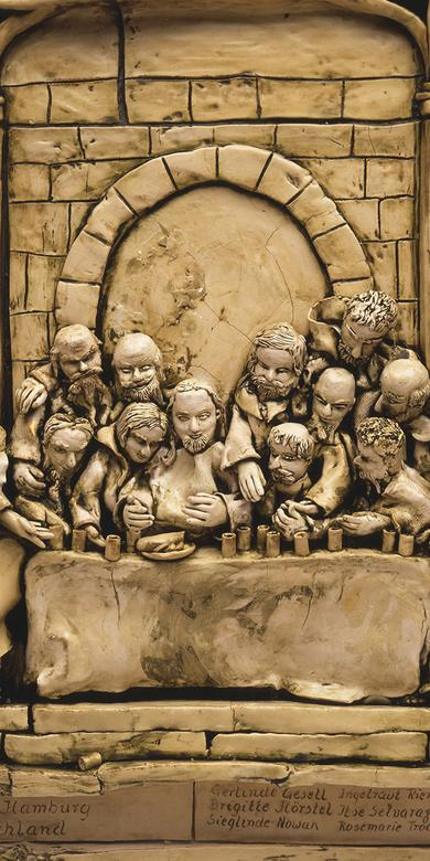 """The Last Supper,"" by Ingetraut Riemer"