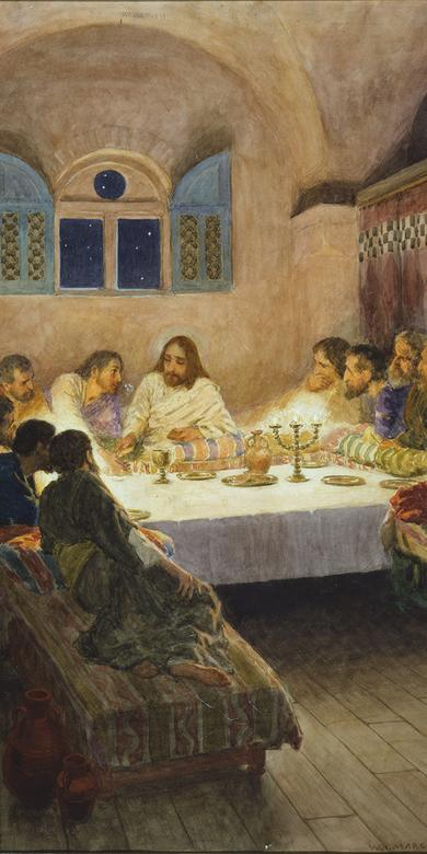 """The Last Supper,"" by William Henry Margetson"