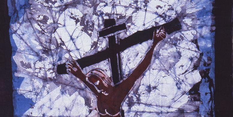 """Christ on the Cross,"" by Emile Wilson"