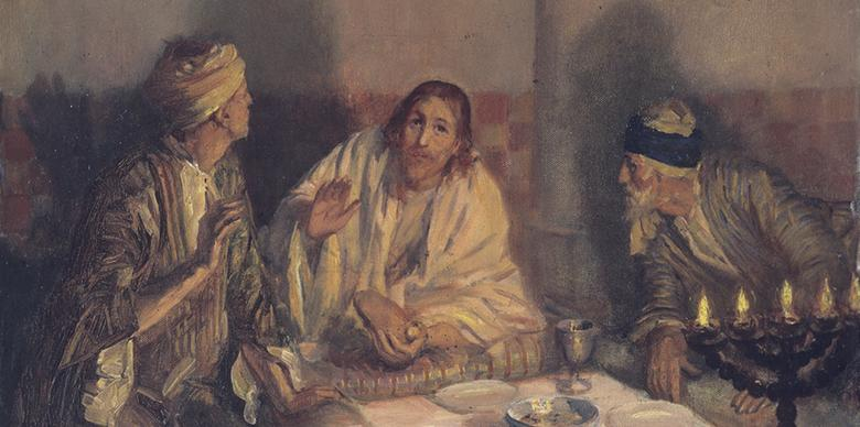 """Supper at Emmaus,"" by Simon Vender"