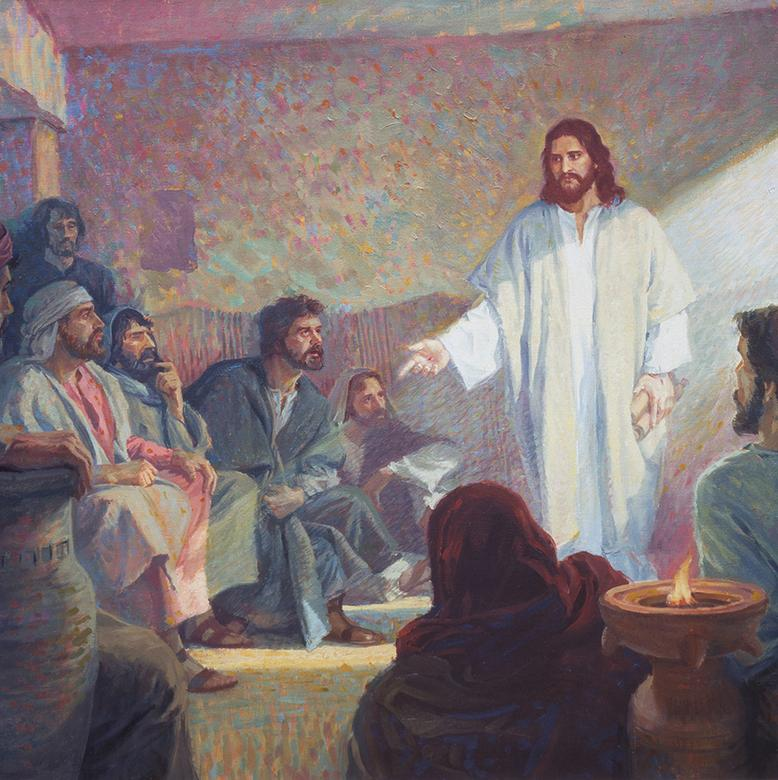 """Christ Appearing to the Twelve after the Resurrection,"" by Scott Snow"