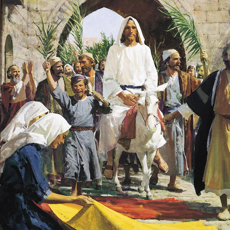 """Christ's Triumphal Entry into Jerusalem,"" by Harry Anderson"