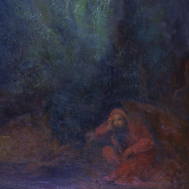 """Christ in Gethsemane,"" by Richard Burde"