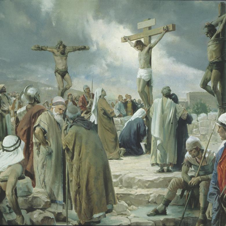 """Crucifixion,"" by Harry Anderson"