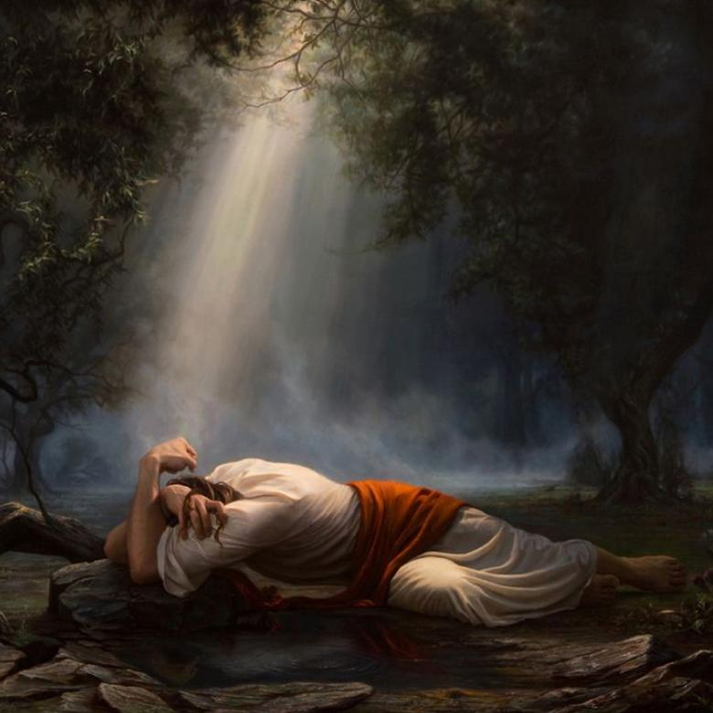 """Gethsemane,"" by Adam Abram"
