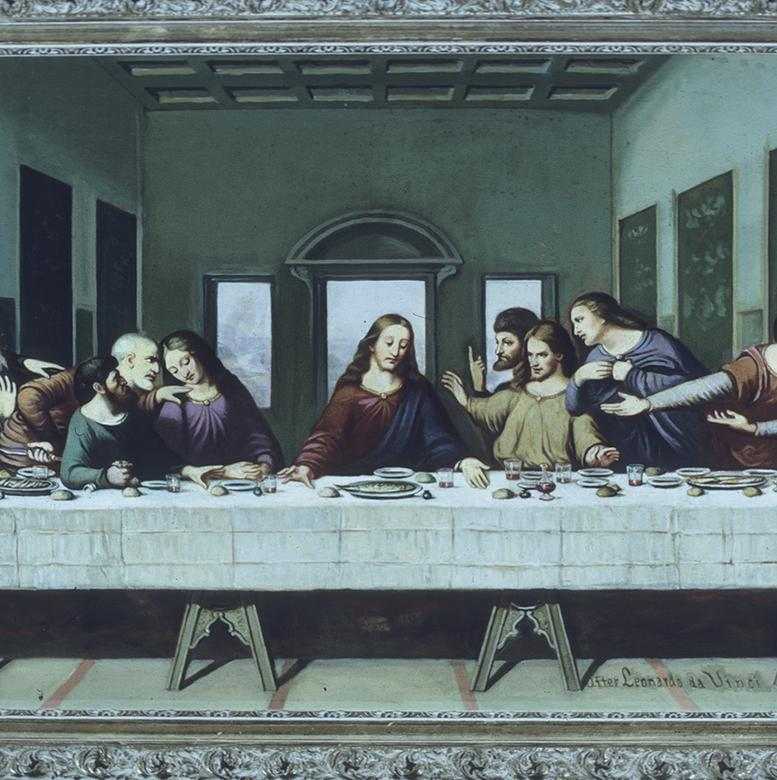 """The Last Supper,"" by Dan Weggeland"