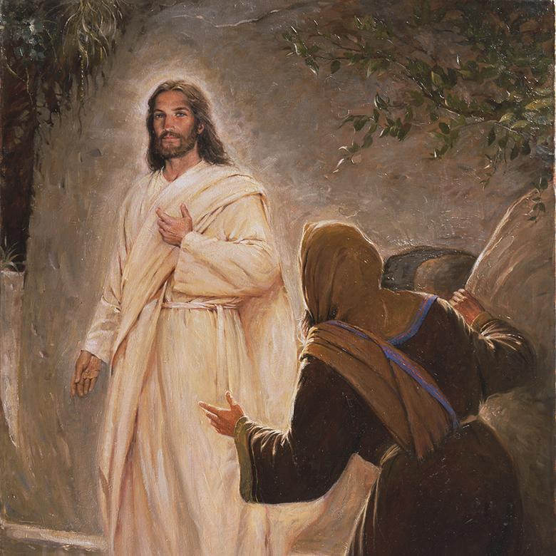 """The Resurrected Christ,"" by Walter Rane"