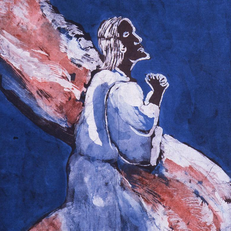 """Christ Praying in Gethsemane,"" by Emile Wilson"