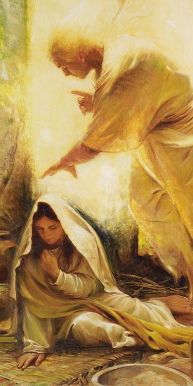 Artwork from Birth of Jesus Christ Exhibit   Church History Museum