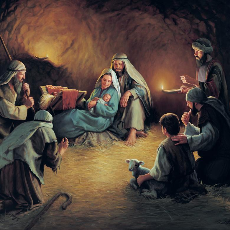 """Birth of Jesus Christ,"" by David Lindsley"