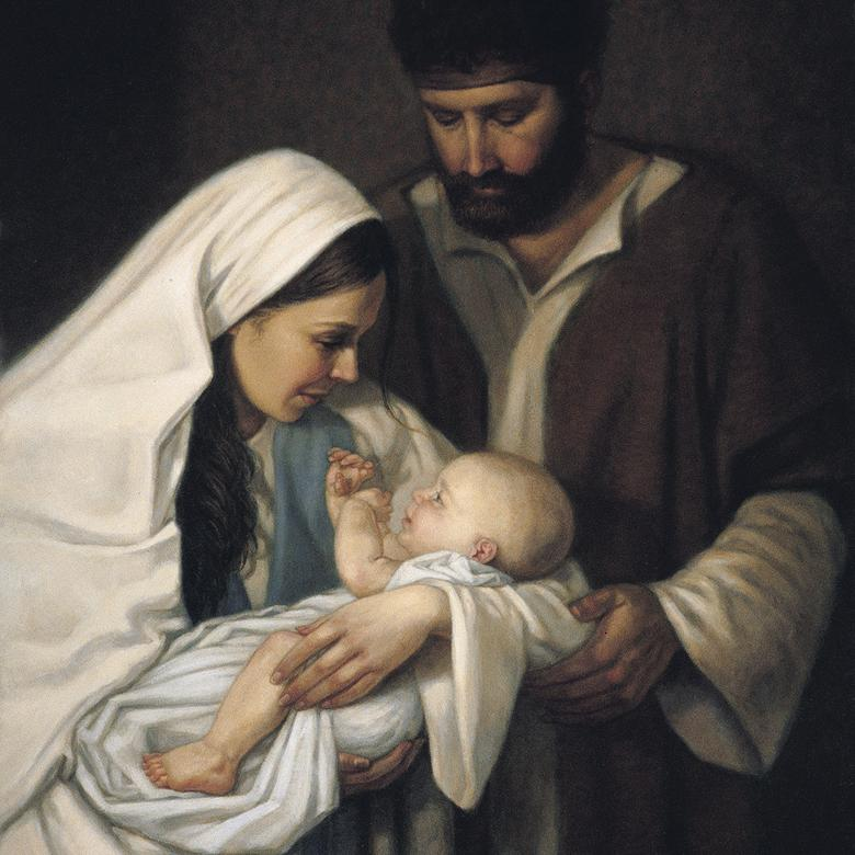 """For unto Us a Child Is Born,"" by Lynne Millmam Weidinger"