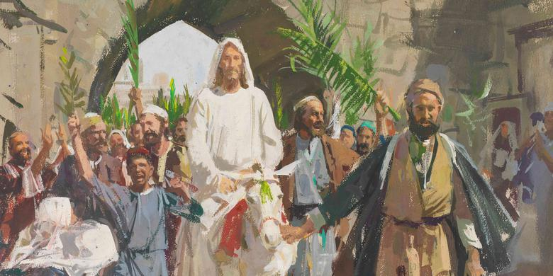 Image result for triumphant entry into jerusalem