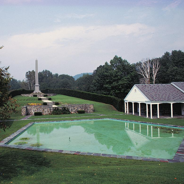 Birthplace Reflecting Pool, 1961