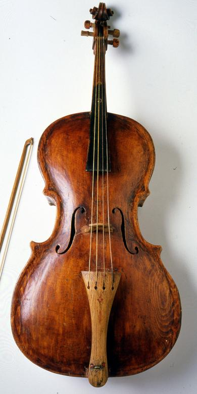 George Wardle's Cello and Bow