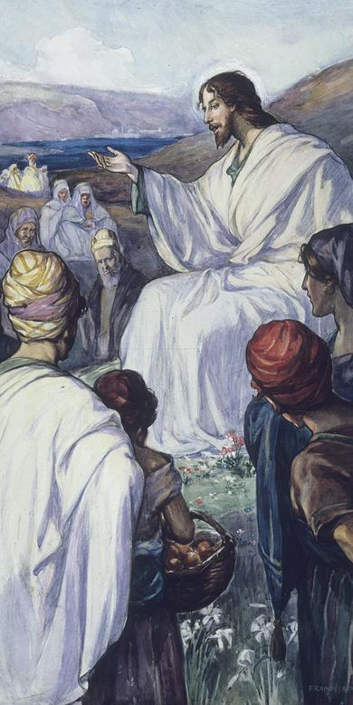 """The Sermon on the Mount,"" by Frank Adams"