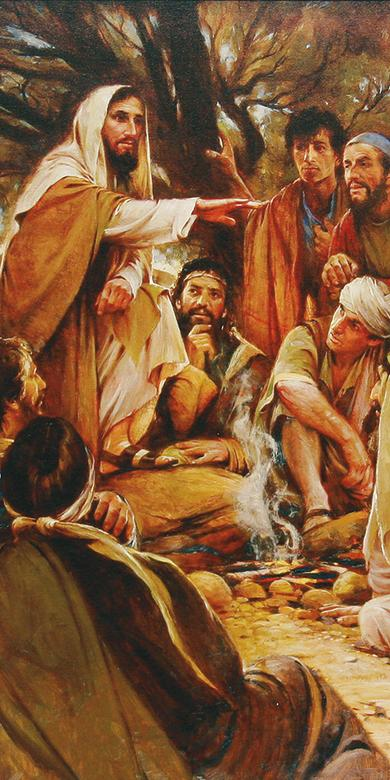 """These Twelve Jesus Sent Forth,"" by Walter Rane"