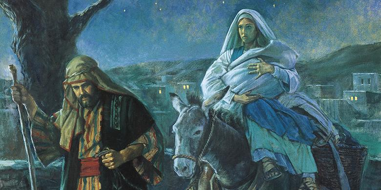 """Flight into Egypt,"" by Robert T. Barrett"